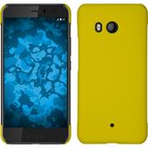 Hardcase U11 rubberized yellow + protective foils