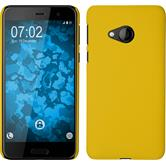 Hardcase U Play rubberized yellow