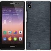 Hardcase for Huawei Ascend P7 metallic gray