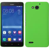Hardcase for Huawei Honor 3X G750 rubberized green