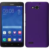 Hardcase for Huawei Honor 3X G750 rubberized purple