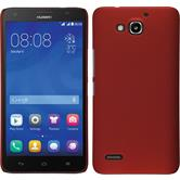 Hardcase for Huawei Honor 3X G750 rubberized red