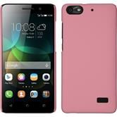 Hardcase for Huawei Honor 4c rubberized pink