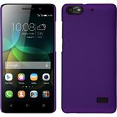 Hardcase for Huawei Honor 4c rubberized purple