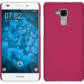 Hardcase for Huawei Honor 5C rubberized hot pink