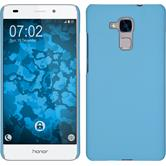 Hardcase for Huawei Honor 5C rubberized light blue