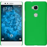 Hardcase for Huawei Honor 5X rubberized green