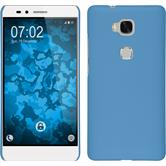 Hardcase for Huawei Honor 5X rubberized light blue