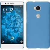 Hardcase for Huawei Honor 5X rubberized light blue