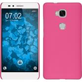 Hardcase for Huawei Honor 5X rubberized pink