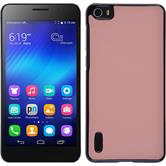 Hardcase for Huawei Honor 6 leather optics pink