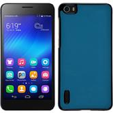 Hardcase for Huawei Honor 6 leather optics turquoise