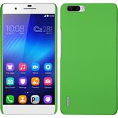 Hardcase for Huawei Honor 6 Plus rubberized green