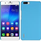 Hardcase for Huawei Honor 6 Plus rubberized light blue