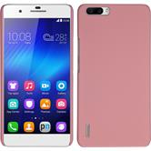 Hardcase for Huawei Honor 6 Plus rubberized pink
