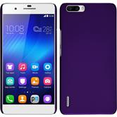 Hardcase for Huawei Honor 6 Plus rubberized purple