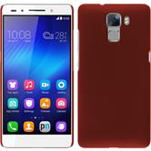 Hardcase for Huawei Honor 7 rubberized red