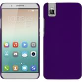 Hardcase for Huawei Honor 7i rubberized purple