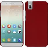 Hardcase for Huawei Honor 7i rubberized red