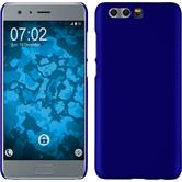 Hardcase Honor 9 rubberized blue + protective foils