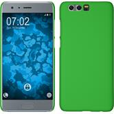 Hardcase Honor 9 rubberized green + protective foils
