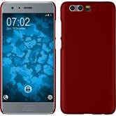Hardcase Honor 9 rubberized red + protective foils
