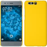 Hardcase Honor 9 rubberized yellow + protective foils