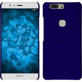 Hardcase for Huawei Honor V8 rubberized blue