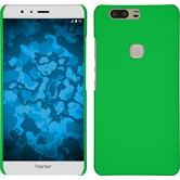 Hardcase for Huawei Honor V8 rubberized green