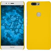 Hardcase for Huawei Honor V8 rubberized yellow