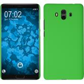 Hardcase Mate 10 rubberized green Case