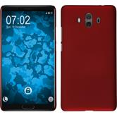 Hardcase Mate 10 rubberized red Case