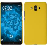 Hardcase Mate 10 rubberized yellow Case