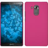 Hardcase for Huawei Mate 8 rubberized hot pink