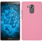 Hardcase for Huawei Mate 8 rubberized pink