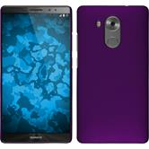Hardcase for Huawei Mate 8 rubberized purple