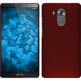 Hardcase for Huawei Mate 8 rubberized red