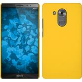 Hardcase for Huawei Mate 8 rubberized yellow