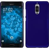 Hardcase Mate 9 Pro rubberized blue