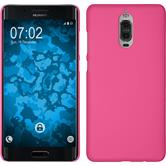 Hardcase Mate 9 Pro rubberized hot pink