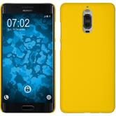 Hardcase Mate 9 Pro rubberized yellow