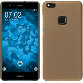Hardcase P10 Lite rubberized gold