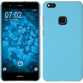 Hardcase P10 Lite rubberized light blue