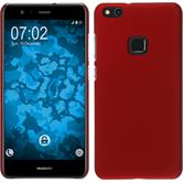 Hardcase P10 Lite rubberized red