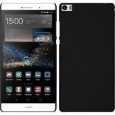 Hardcase for Huawei P8max rubberized black