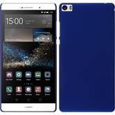 Hardcase for Huawei P8max rubberized blue