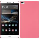 Hardcase for Huawei P8max rubberized pink