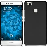 Hardcase for Huawei P9 Lite rubberized black