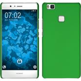 Hardcase for Huawei P9 Lite rubberized green