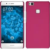 Hardcase for Huawei P9 Lite rubberized hot pink